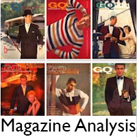 A visual analysis of magazines